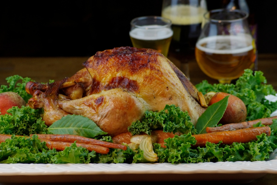 9 Ways to Beerify Your Thanksgiving Dinner: Beer Brined Turkey with Beer Gravy
