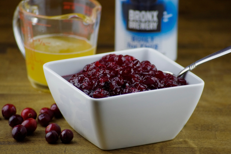 9 Ways to Beerify Your Thanksgiving Dinner: Homemade NEIPA Cranberry Sauce