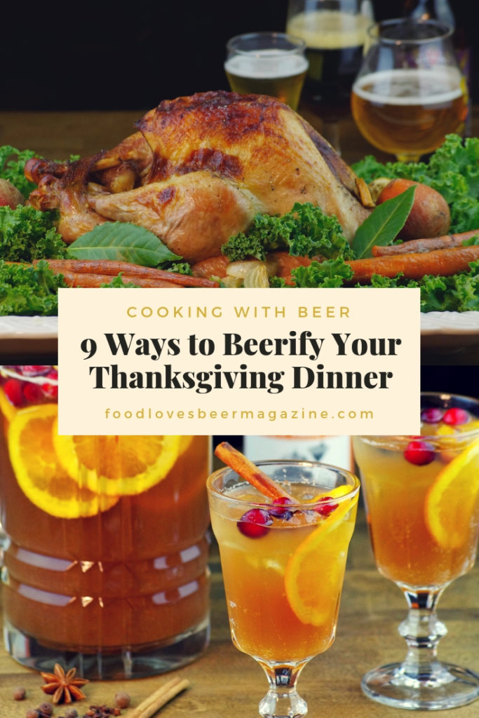 Pin 9 Ways to Beerify Your Thanksgiving Dinner